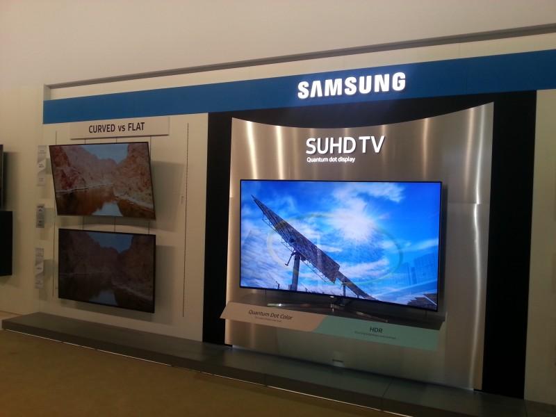 SUHD TV avec l'écran Quantum Dot