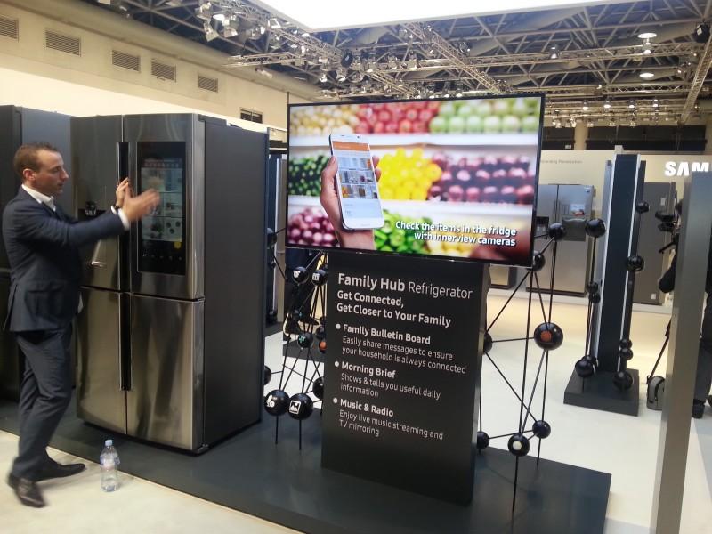 Le Family Hub Refrigerator, pour gérer, cuisiner, communiquer