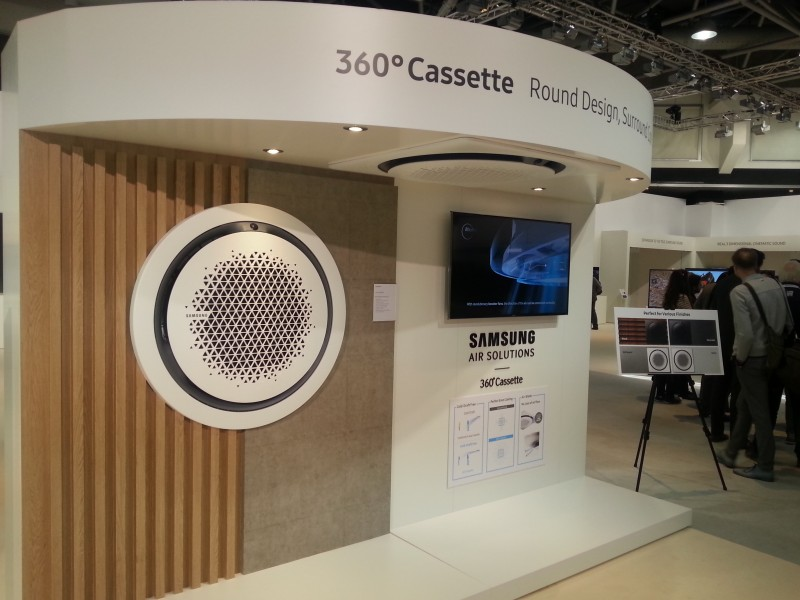 360° Cassette, système d'air conditionné