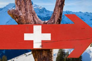 Direction la Suisse