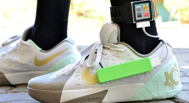 chaussure autonomie des objets connectes