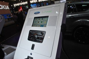 infotainment ford sync 3 large