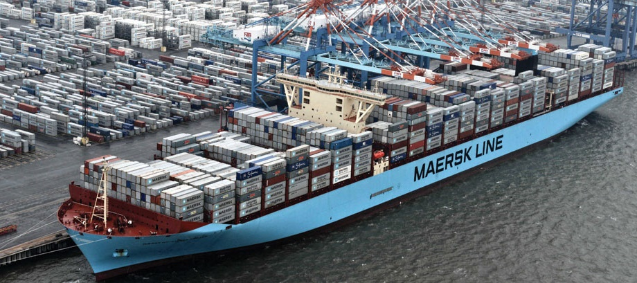maersk line container connecté at&t