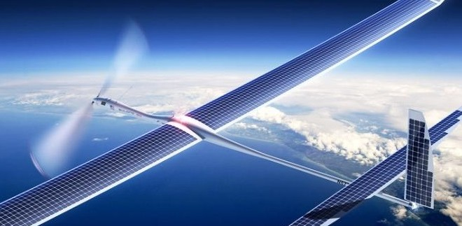 skybender google drone solaire 5G