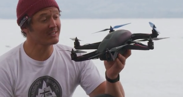 Drone Volt, accord avec Squadrone System