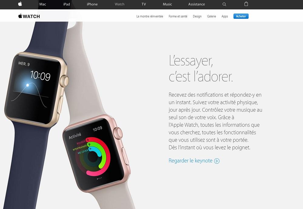 sur-traitant apple watch