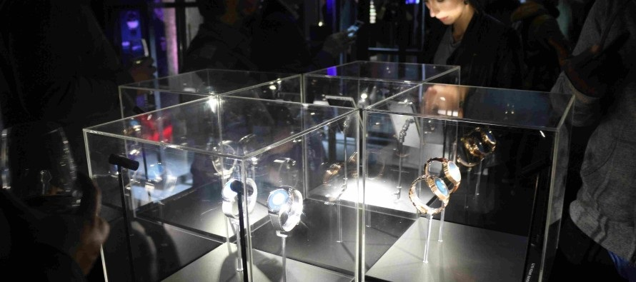 wearables vitrine mwc 2016