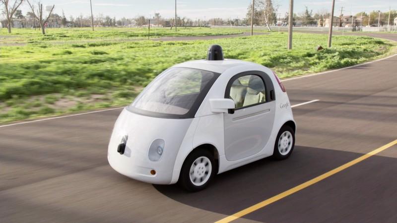 voitures connectées iot startups google car