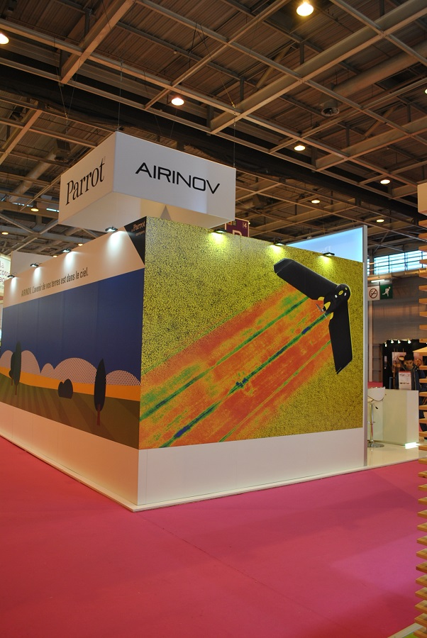 airinov drone smart agriculture
