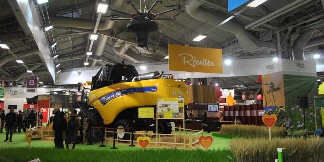 drone agricole ensileuse salon de l'agriculture