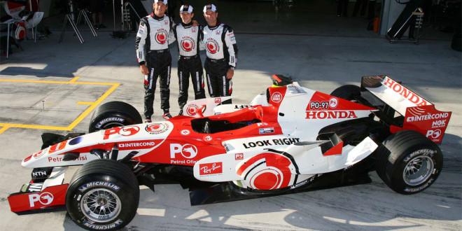 ibm honda course formule 1 voiture