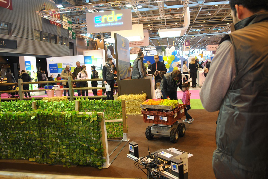 robot-irstea drone agricole