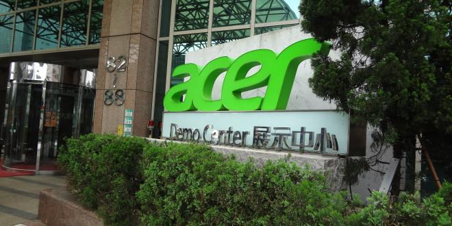 Immeuble Acer à Taipei