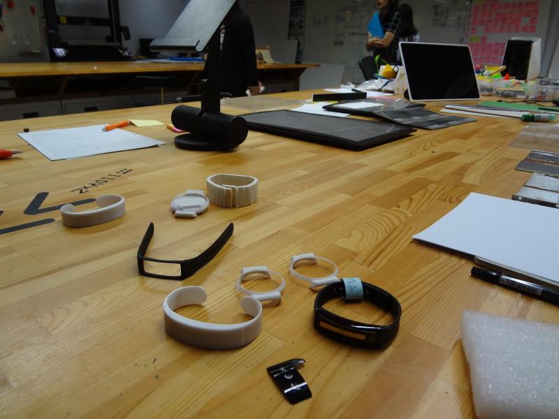 ... et leurs mock-ups, imprimés en 3D, dans le Acer Design Studio ACER