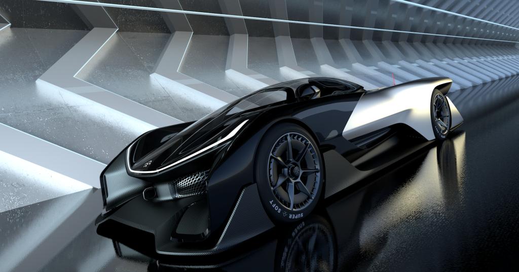 Faraday Future auto-conduite voitures usine nevada