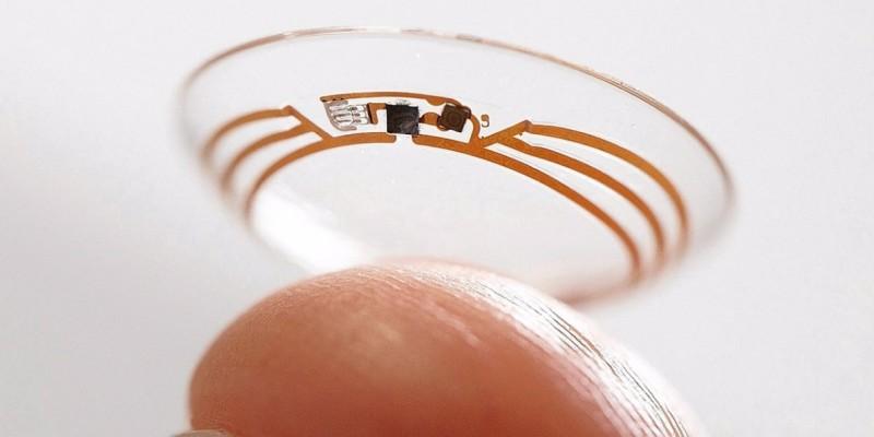 wearables lentille capteur face monde connecté