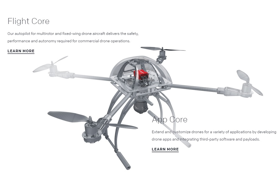 plateforme pour drone airware