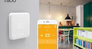 thermostat intelligent smart home iot startup allemagne levée tado smart