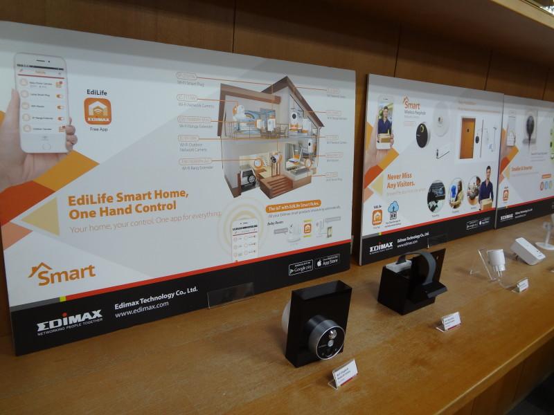 Gamme de produits Edimax pour une smart home