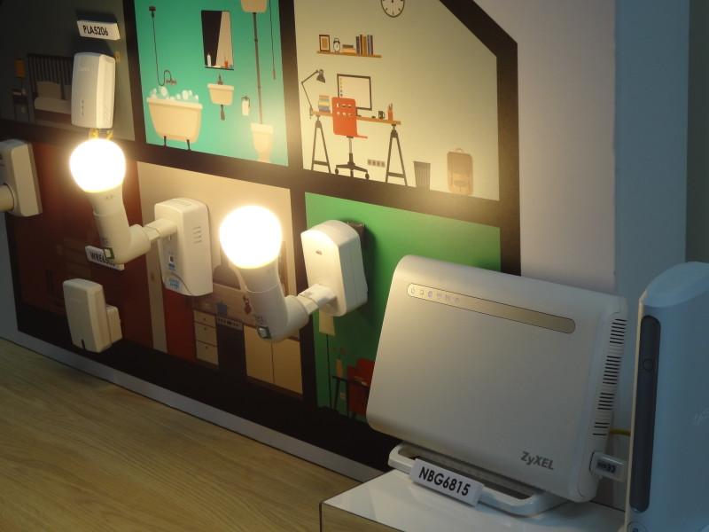Démonstration produit chez ZyXEL Smart Home