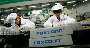foxconn iot robots chine ouvriers