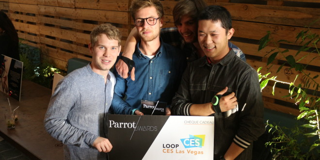 Parrot event awards iot objet team loop