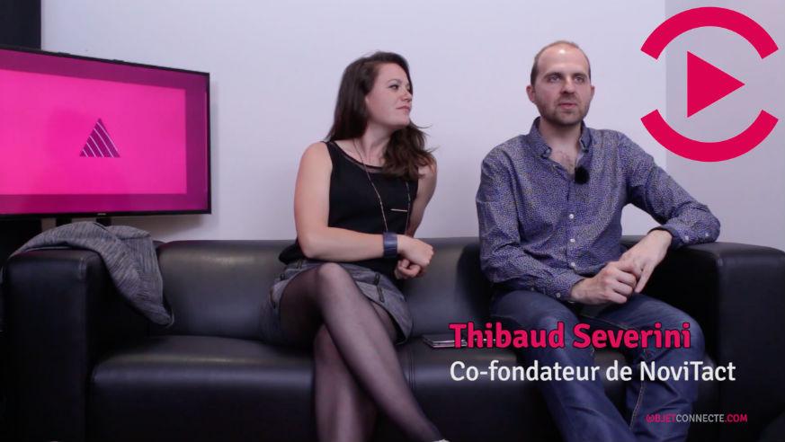 novitact unitact bracelets connectés iot startup interview video sourds communication