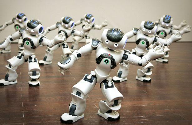 robot nao connecte