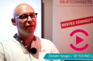3D sound Labs iot video interview boitier