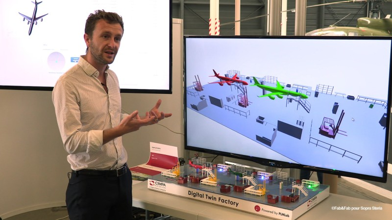 Explications sur la Digital Twin Factory par Brice Fayolle, expert en PLM
