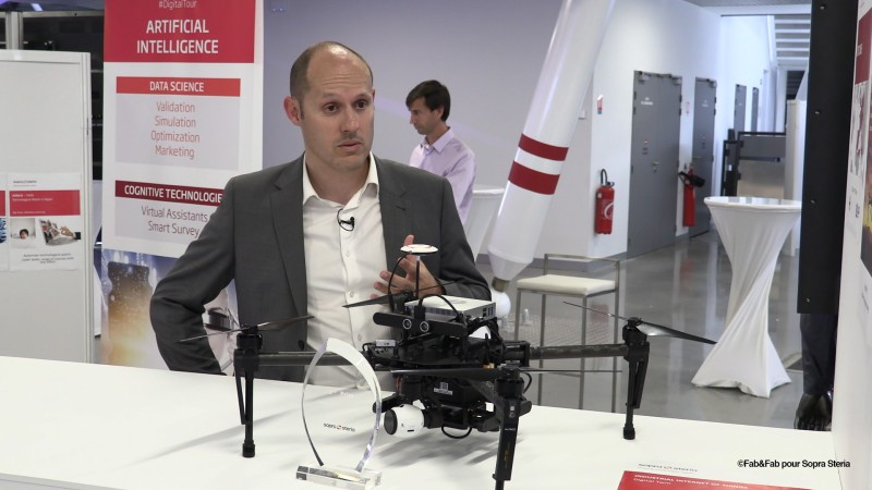 Le drone de Sopra Steria, explications par Florent Brodziak