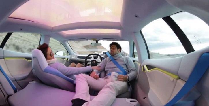 voitures autonomes une