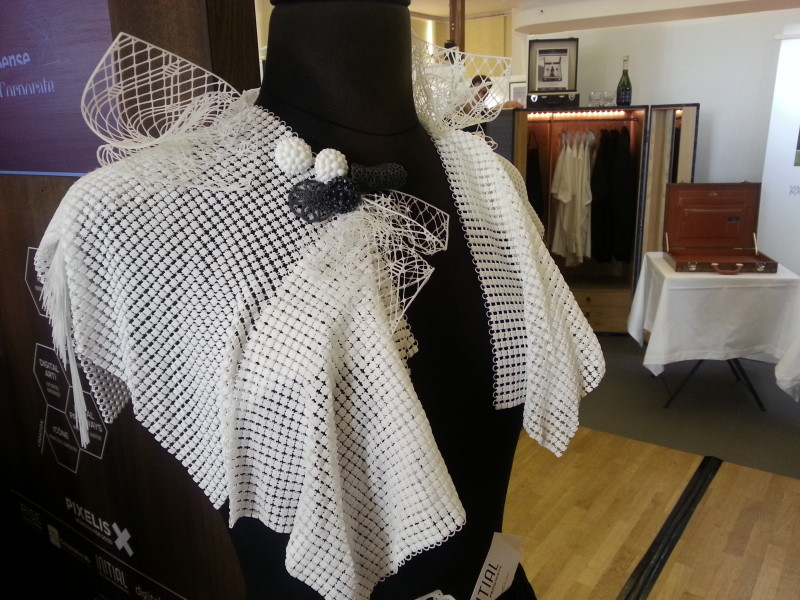 De la Haute Couture imprimée en 3D, par Initial Les Créations