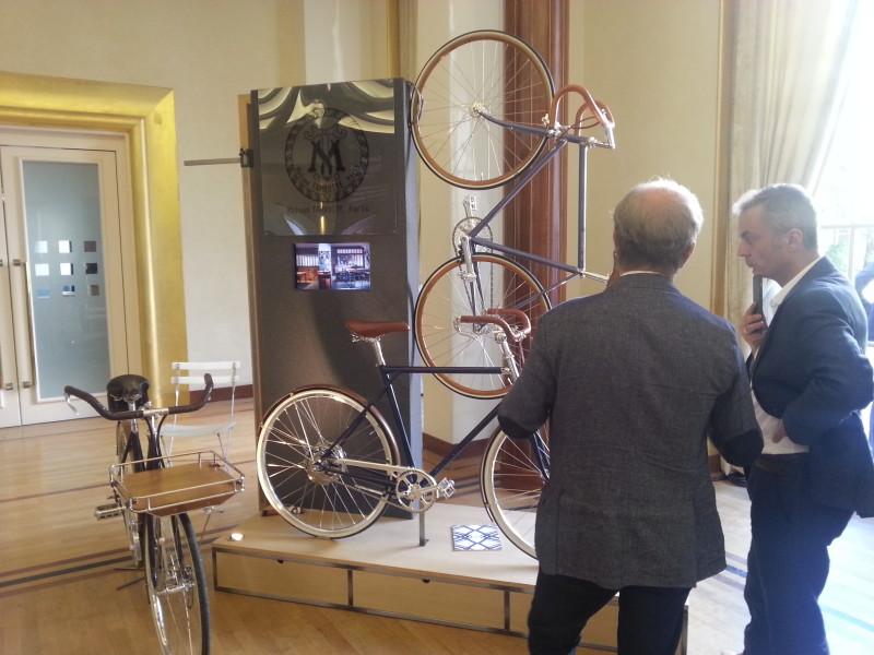 La Maison Tamboite fabrique des vélos sur mesure et connectés