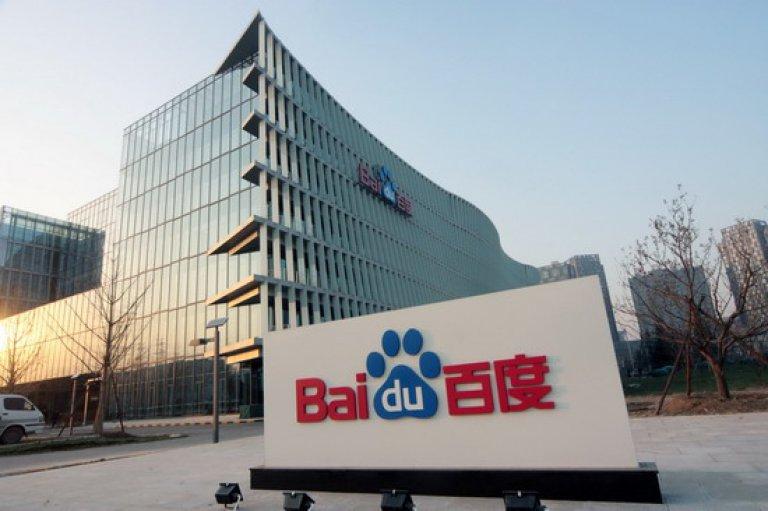 Baidu services cloud chine internet