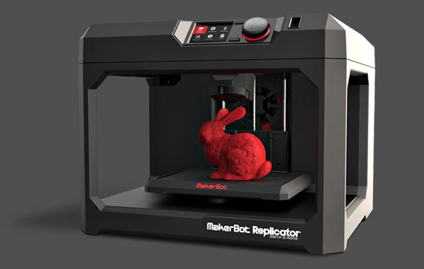 animation imprimante 3D connecte