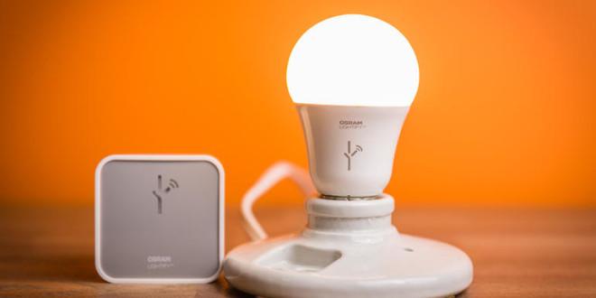 Un modèle de lampe intelligente d'Osram