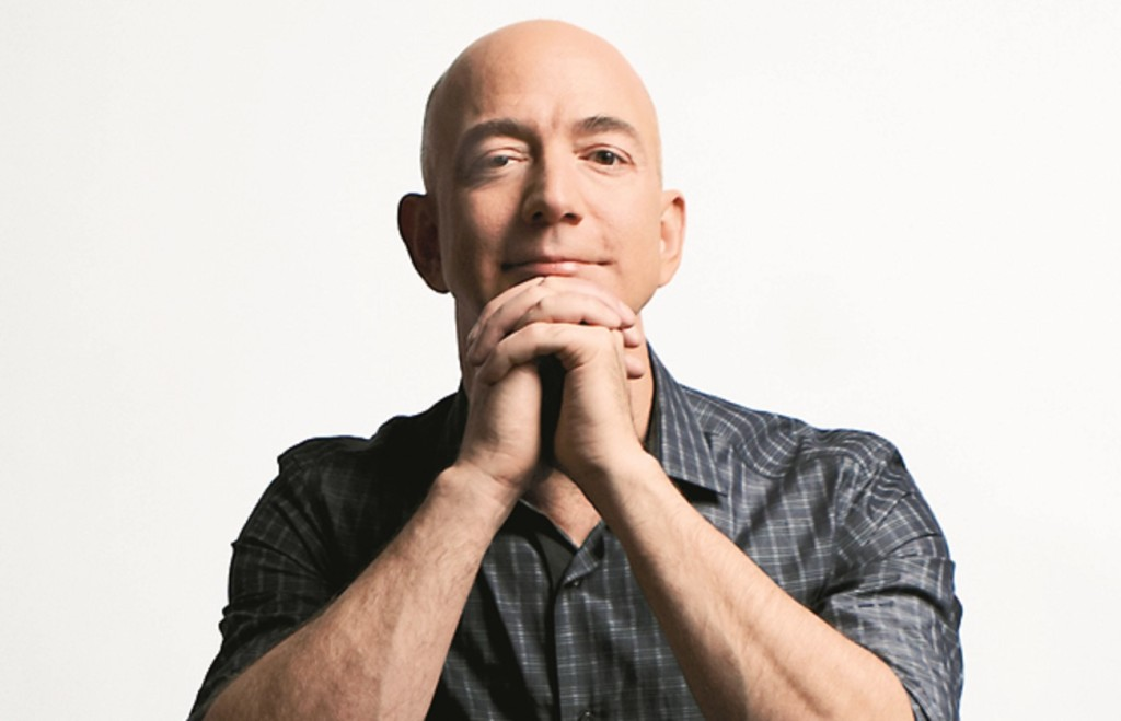 Jeff Bezos, PDG d'Amazon