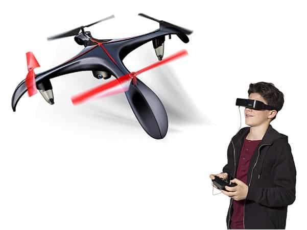 silverlit blacksior animation drones
