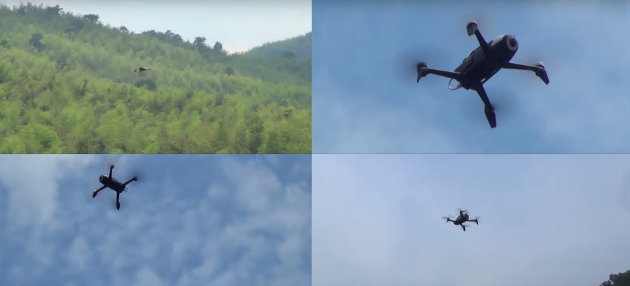 5g drone ericsson china mobile