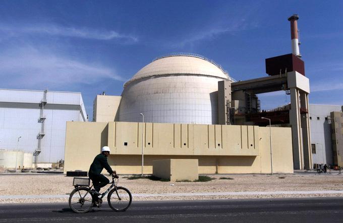 La centrale de Bouchehr en Iran