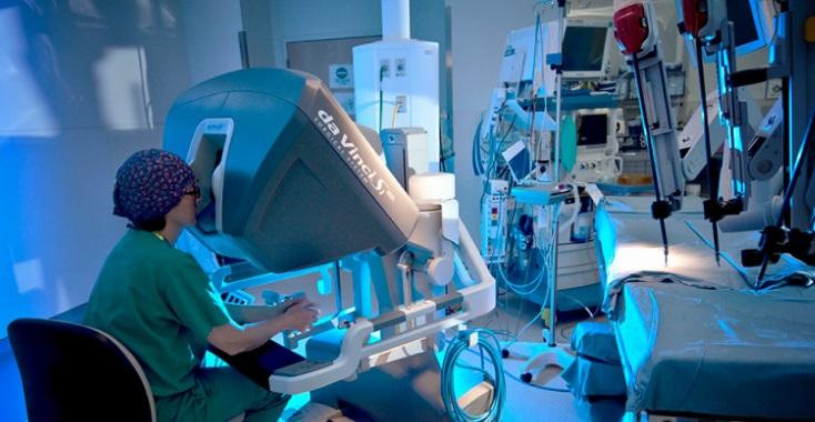 robotique da vinci - hopital du futur