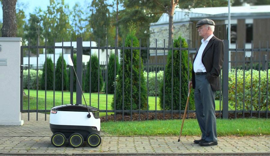 robots livreurs une