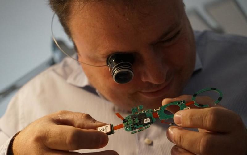 Arny Kapshitzer, fondateur de Hyetis Technologies et créateur de la montre Alpha