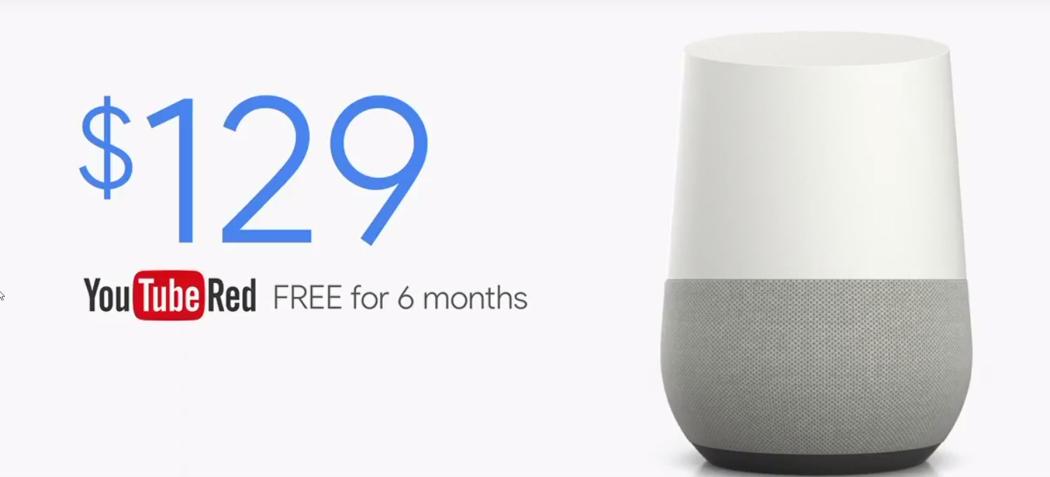 google home prix