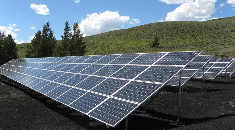 iot environnement panneau solaire