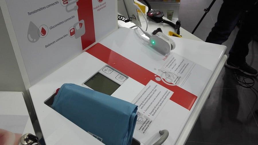 pharmacie borne itinérante objets connectés santé ihealth