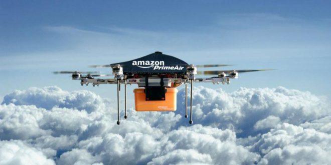 amazon drones iot