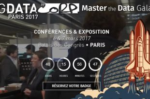 big data paris 2017 une