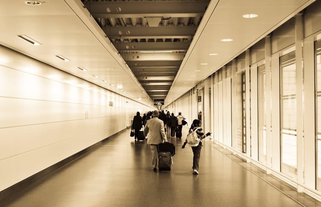 couloir aéroport